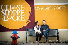 Urban City Engagement Photography | New Town Images