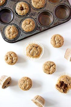 (Easy Gluten-Free) Flourless Peanut Butter Chocolate Chip Mini Muffins – KS Source by Best Gluten Free Recipes, Gluten Free Baking, Gluten Free Desserts, Paleo Recipes, Mini Chocolate Chip Muffins, Mini Muffins, Peanut Butter Bread, Chocolate Peanut Butter, Almond Butter