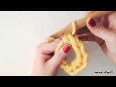 Cómo hacer el círculo mágico en crochet - WE ARE KNITTERS - YouTube