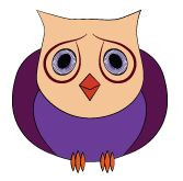 Sad little owl illustration from owladay.wordpress.com