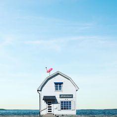 The Nordic White House . . #sejkko_lonelyhouses