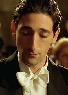 "Adrien Brody in ""The Pianist"" (2002) Best Actor Oscar 2002"