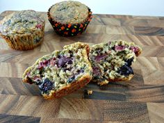 Very Berry Oatmeal Muffins on MyRecipeMagic.com