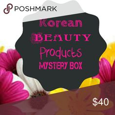 Brand New! Korean Beauty Products Mystery Box! Korean Beauty Products Mystery Box! A total of 5 Korean Beauty Products! Products range from skincare to makeup! Makeup