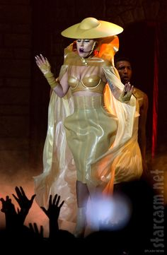 Lady Gaga Born This Way Ball tour costume