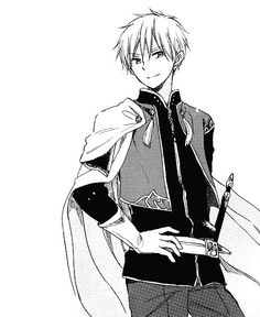 Akagami no Shirayuki-hime - Snow White with the Red Hair - Prince Zen <3