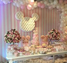 festa branca e rosa