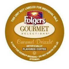FOLGERS GOURMET SELECTIONS CARAMEL DRIZZLE COFFEE - 120 K CUPS -- Insider's special review you can't miss. Read more  : K Cups