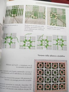 Drawn thread embroidery book Guida al ricamo by ElenaRossi