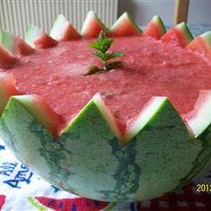 Watermelon Soup Allrecipes.com