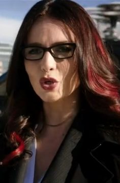 """Agent Victoria Hand played by Saffron Burrows. Introduced in season one of ABC's """"Agents of S.H.I.E.L.D."""""""