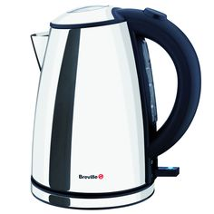 Buy Breville Jug Kettle with 1 Litre Capacity - Stainless Steel from Appliances Direct - the UK's leading online appliance specialist Stainless Steel Toaster, Brushed Stainless Steel, Hospitality Supplies, Kettle And Toaster, Easy Fill, Cord Storage, Shaker Doors, Electrical Appliances, Great Wedding Gifts