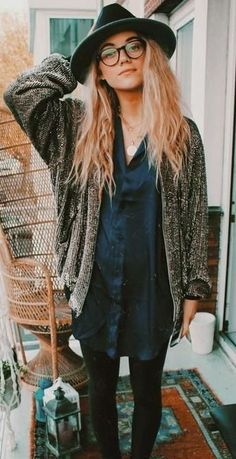 sequin jacket. #boho. #geek chic. style.
