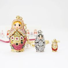 ♡Matryoshka doll JEWELED