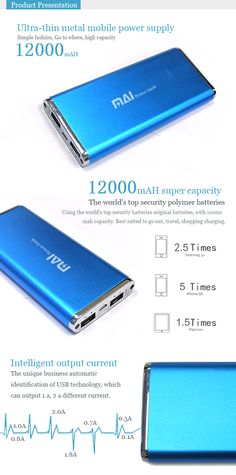 MAI-066 12000mAH Ultra-thin metal frosted mobile power supply for iPhone iPad - See more at: http://www.maidipower.com/mai-066-12000mah-ultra-thin-metal-frosted-mobile-power-supply-for-iphone-ipad.html#sthash.d8XfElRs.dpuf