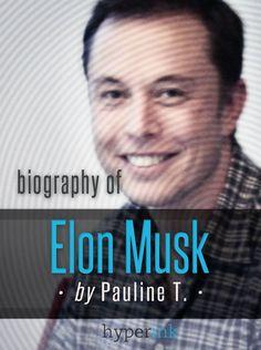 Elon Musk Tesla Tesla Roadster, Steve Jobs, Elon Musk Biography, Elon Musk Tesla, Best Biographies, Tesla Motors, English Book, Mechanical Engineering, Little Books