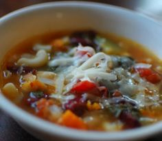 Copycat Olive Garden Minestrone Soup by Todd Wilbur
