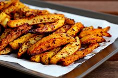 Man-Approved Spicy Oven Fries