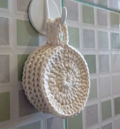 Crochet Discs for Facial Cleansing and Makeup Removal - Eco-Cotton - Skin Care Scrubbies Crochet Pattern, Crochet Motifs, Crochet Stitches, Crochet Patterns, Crochet Home, Knit Or Crochet, Crochet Gifts, Yarn Projects, Knitting Projects