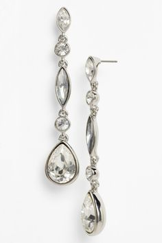 Givenchy Teardrop Linear Earrings (Nordstrom Exclusive) by Assorted on @HauteLook