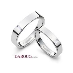 Dabouq Studio Couple Ring - DR0015 - Simple+