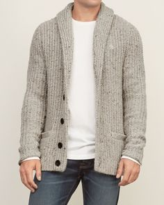 Mens shawl cardigan - 18 Incredible Cardigan Fashion For Cool Men Style Ideas Mens Shawl Cardigan, Cardigan Style, Wool Cardigan, Black Cardigan, Mens Fashion Sweaters, Sweater Fashion, Men Sweater, Winter Pullover Outfits, Cardigan Outfits