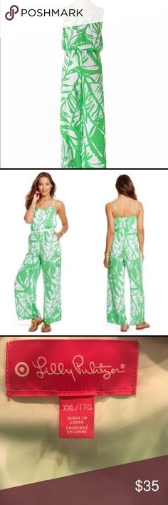 Lilly Pulitzer for Target XXL Jumpsuit How adorable!  Lilly for Target jumpsuit!  This is in excellent condition!  Take a look for that fall/winter vacation! Lilly Pulitzer for Target Pants Jumpsuits & Rompers