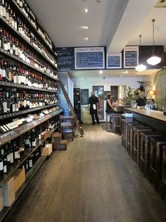 wine shop with bar! yes.... City Wine Shop