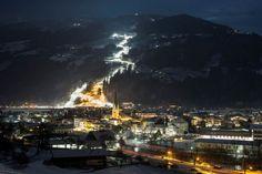 Auch Pistenbeleuchtungen können umweltfreundlich sein. Das Paradebeispiel hierfür finden Sie im Zillertal. Jetzt mehr lesen!