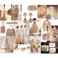 Pale Taupe Gold Details Wedding And Event Planning