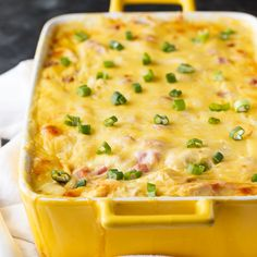 This Chicken Cordon Bleu Casserole recipe is filling and comforting without all the fuss of traditional Chicken Cordon Bleu.