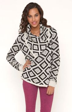 cool pattern and cut. Esther Sweater