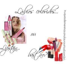 """Lábios coloridos... lipstain ou bastão?"" by truquesdemeninas on Polyvore"