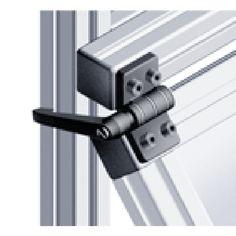 Locking Hinge, Aluminum Trailer, Transit Custom, Camper Interior, Ford Transit, Camper Van, Joinery, Door Handles, Solar