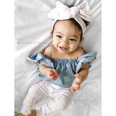Use code: PBF35 @liveloveshopbaby  . . . Headwrap & leggings: @liveloveshopbaby  Top: mommy made