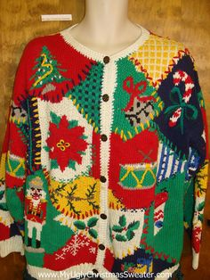 796b34c7d Worst Ever Holy Grail of Ugly Christmas Sweater