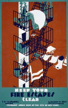 WORKS PROGRESS ADMINISTRATION POSTERS, 1935-1943