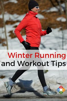 Winter Workout Clothes. What are the best clothes and tips for winter running? We have you covered. | via @SparkPeople