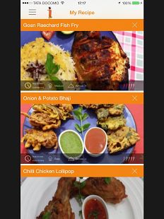 Great food app. For Android users. Proud to present our much awaited Curry App! Now you can access all our recipes with detailed instructions and videos. You can save your favourite recipes & add ingredients to your shopping list too. Below is the Google Play link for our Android users. Keep calm and enjoy your curry!