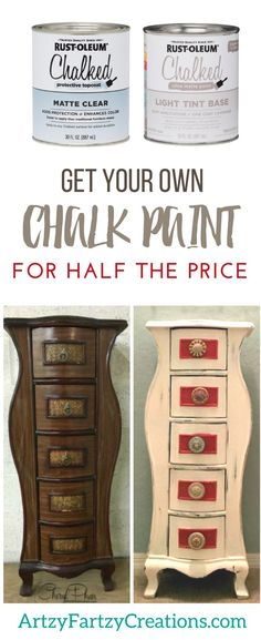 get chalk paint for half the price and save money on diy painting projects stop you are paying too much for your brand name chalk type paints - Paint Brand Names
