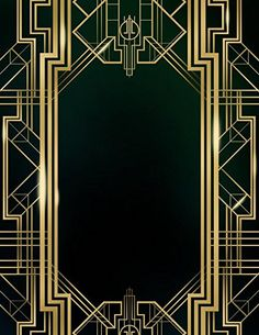 The Great Gatsby | Art deco design | Pinterest | Gatsby, Art deco ...