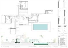 Discover recipes, home ideas, style inspiration and other ideas to try. Beach House Plans, Cottage House Plans, Craftsman House Plans, Country House Plans, House Floor Plans, Richard Neutra, Richard Meier, Post Modern Architecture, Futuristic Architecture