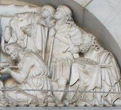 Nicola Pisano: Deposizione e Natività. Lucca, Duomo