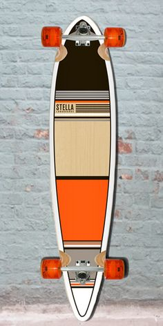 Longboards USA - Longboard Pintail Orange Classic Stella Skateboard Complete, $97.00 (http://longboardsusa.com/longboards/cruiser-longboards-riding-style/longboard-pintail-orange-classic-stella-skateboard-complete/)