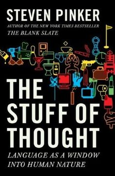 The Stuff of Thought: Language as a Window into Human Nature reverse-engineers our relationship with language, exploring what the words we use reveal about the way we think. The book is structured into different chapters, each looking at a different tool we use to manage information flow, from naming to swearing and politeness to metaphor and euphemism.