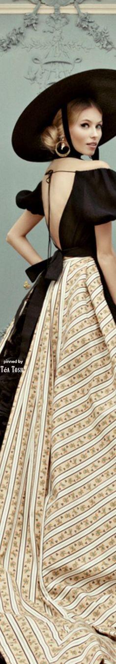 ❈Téa Tosh❈ Ulyana Sergeenko, Haute Couture, Spring Summer 2013-14