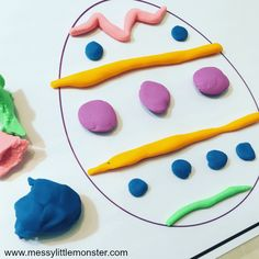Free printable Easter playdough mats for kids. Toddlers and preschoolers will love this Spring play dough activity. Playdough mat designs include decorate an Easter egg, give a bunny or lamb a face, fill an Easter basket and make some baby chicks. Easter Activities For Toddlers, Playdough Activities, Easter Crafts For Kids, Toddler Crafts, Easter Play, Easter Egg Coloring Pages, Homemade Bubbles, Diy Ostern, Easter Printables