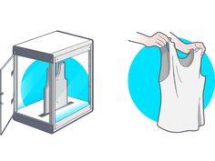 Crie a sua roupa a partir de uma impressora 3D