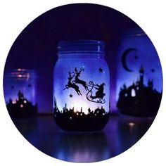 Home made christmas lanterns! imagine little eyes loving these., #minimadechristmas