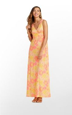 the perfect lightweight maxi for the summer!